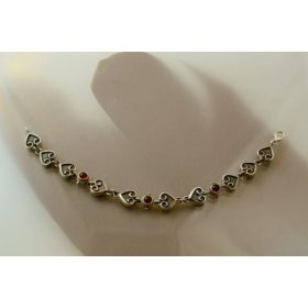 Hungarian silver bracelet
