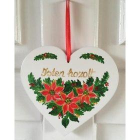Kézműves karácsonyi dísz