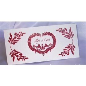 Hungarian wedding accessories, invitations