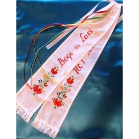 Hungarian wedding ribbon