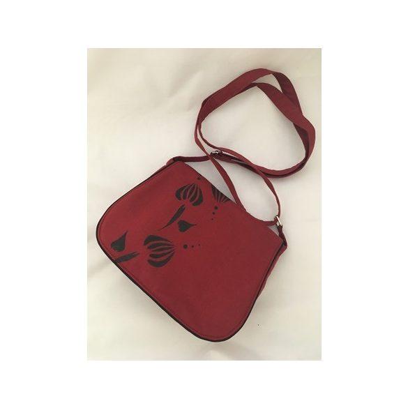 Kézzel festett táska