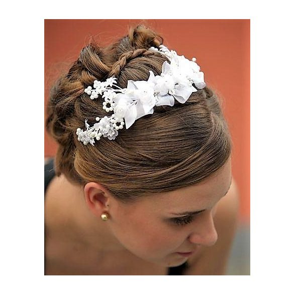 Bridal headdress.